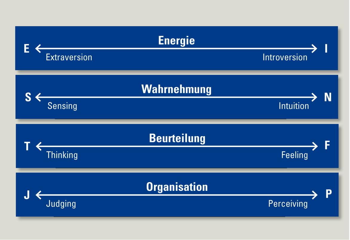 Persönlichkeitsanalyse Jungian Personality Profile (JPP)